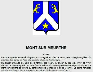 Blason Mont